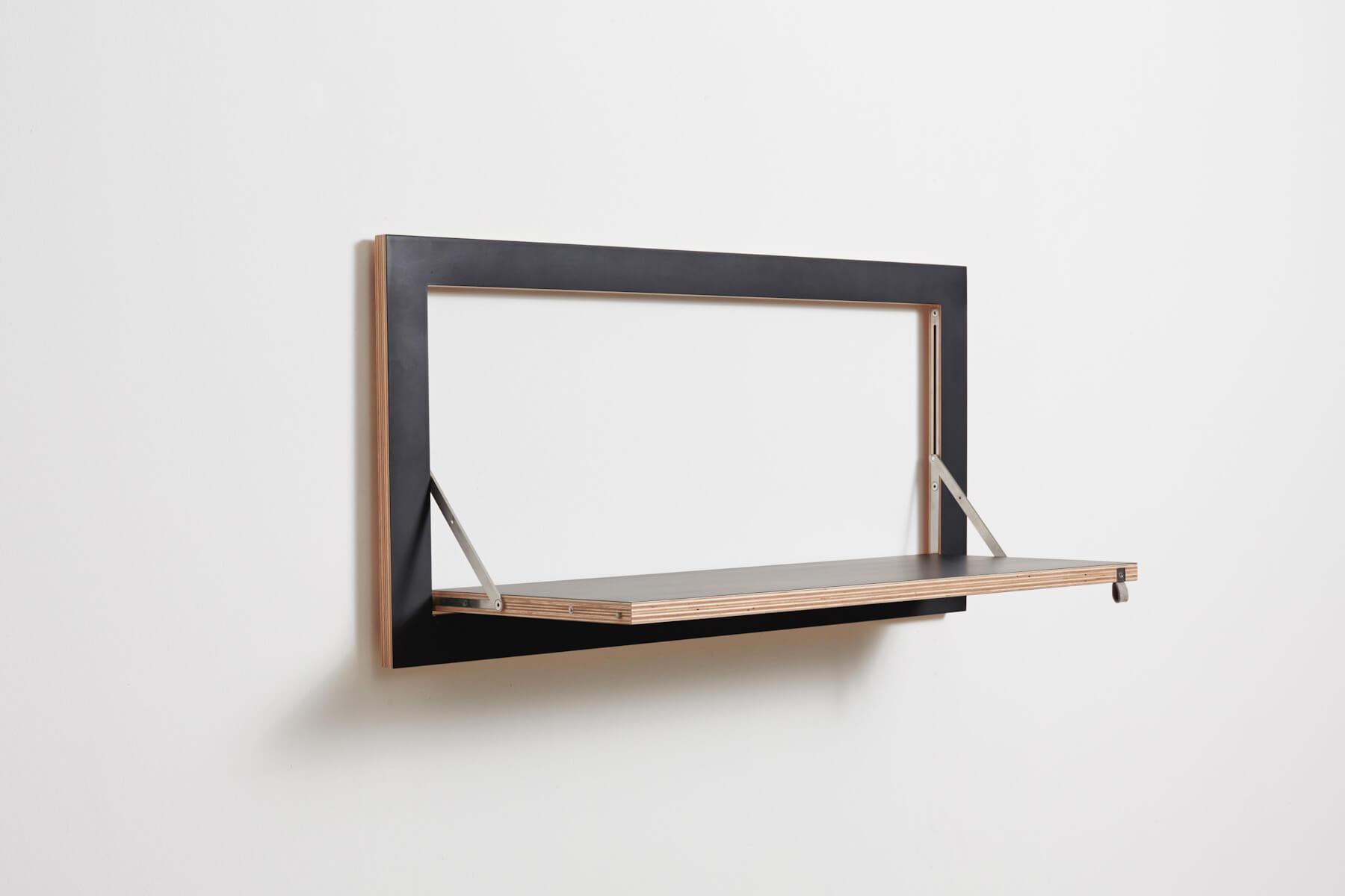 Funktionelles modernes wandregal fl pps 80x40 cm in for Sideboard 80 x 40