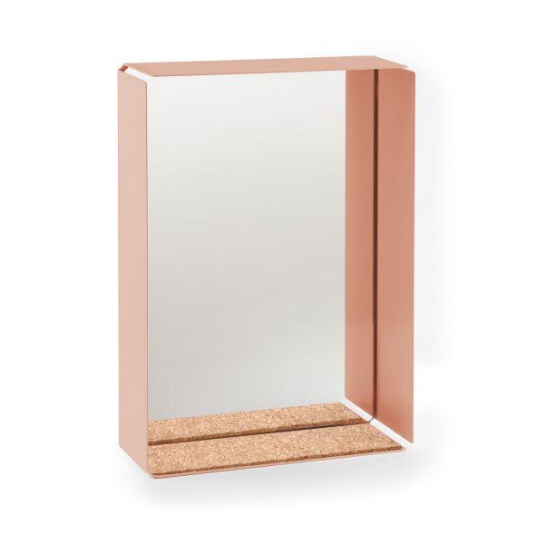 MIRROR BOX - Wandspiegel mit Auflage