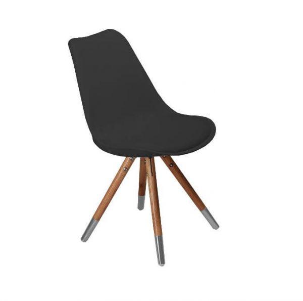 ORSO - Stuhl Schwarz