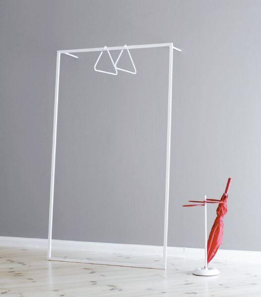 LEANO - Garderobe Weiß