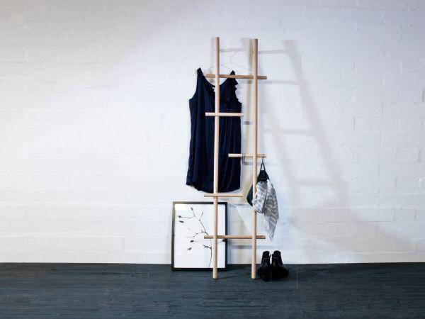 LENDRA - Garderobe Eiche