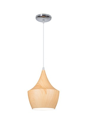 TIPI WOODEN LIGHT - Pendelleuchte 24 cm