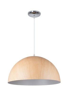 CUPULA WOODEN LIGHT - Pendelleuchte